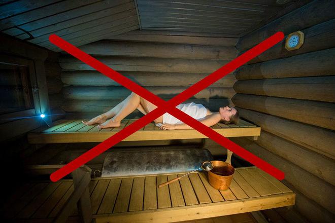 Можно ли париться в бане при бронхите